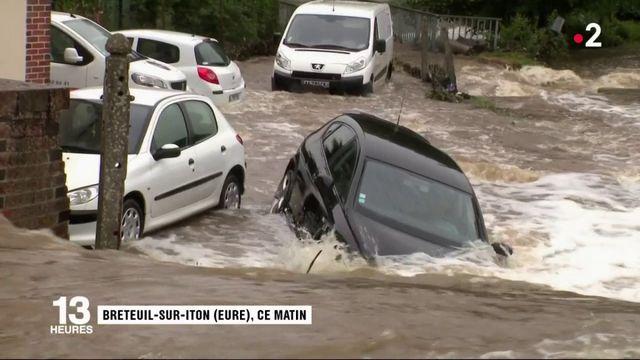 Inondations : un homme retrouvé mort dans l'Eure