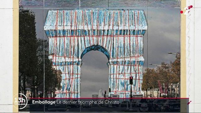l'Arc de Triomphe emballé, le triomphe posthume de Christo