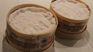 Des fromages Mont d'or, fabriqués dans le Haut-Doubs. (JEAN FRANCOIS FREY / MAXPPP)