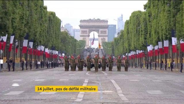 Pas de défilé militaire 14 juillet