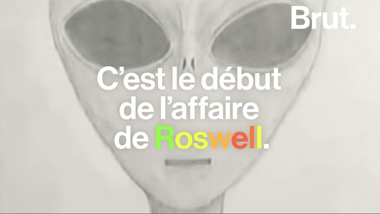 Il y a 70 ans jour pour jour, l'affaire Roswell retentissait. Retour sur cette prétendue arrivée d'extraterrestres sur la Terre. (Brut)