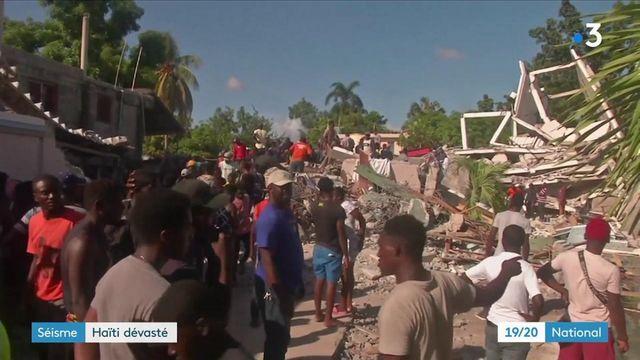 Haïti : l'île compte ses morts après le seisme