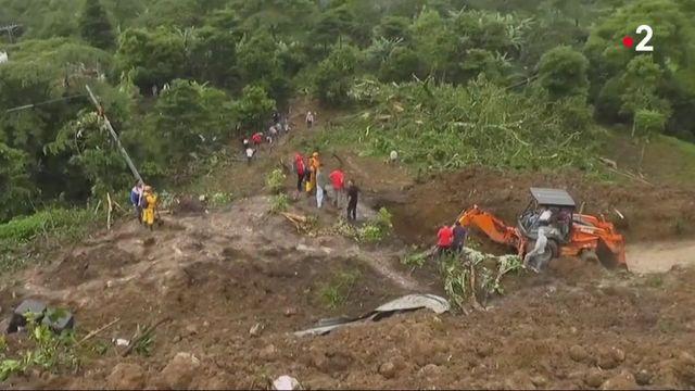 Colombie : glissement de terrain meurtrier
