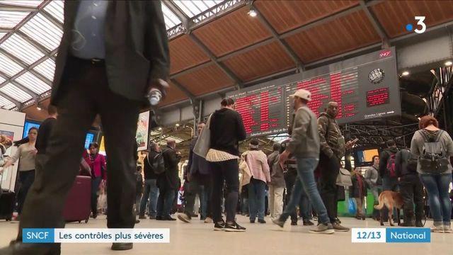 SNCF : des contrôles plus sévères