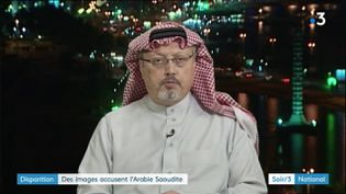 Le journalsite saoudien Jamal Kashoggi (France 3)