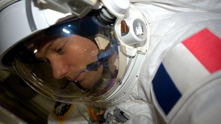 Après l'ISS, Thomas Pesquet rêve d'aller sur Mars. (ESA/NASA)