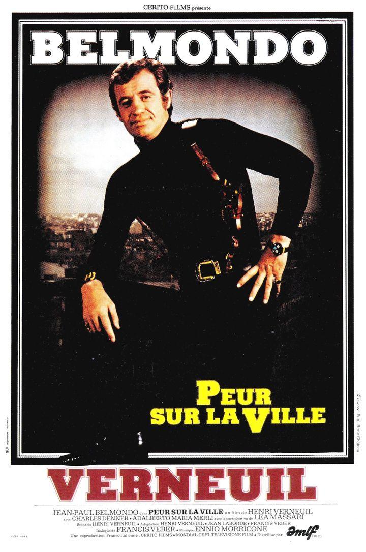 """L'affiche de """"Peur sur la ville"""", sorti en 1975. (AMLF)"""