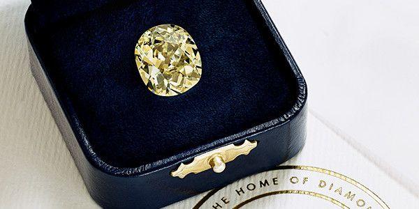 Diamant Eureka original  (De Beers haute joaillerie)