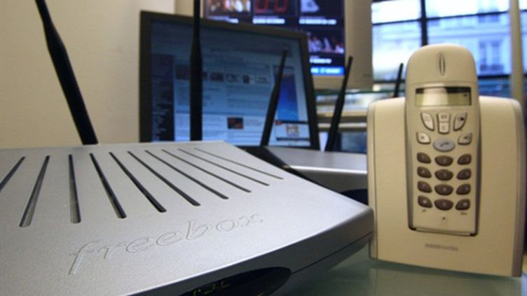 Un modem Freebox (archives) (AFP / Thomas Coex)