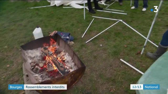 Bourges : rassemblements interdits