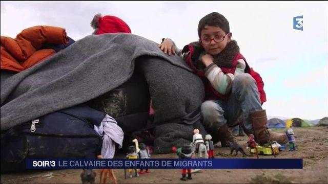 Migrants : les enfants souffrent à la frontière entre la Grèce et la Macédoine
