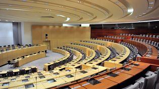 Le conseil régional des Hauts-de-France, à Lille, le 16 janvier 2014. (PHILIPPE HUGUEN / AFP)