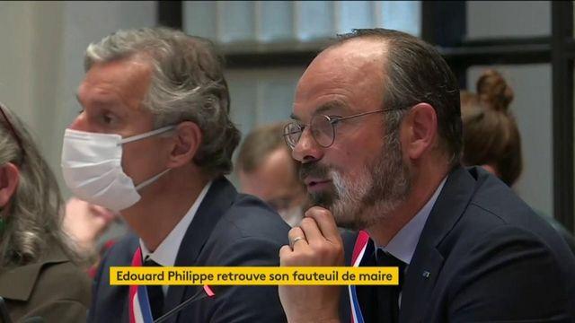 Le discours d'Edouard Philippe réélu maire du Havre