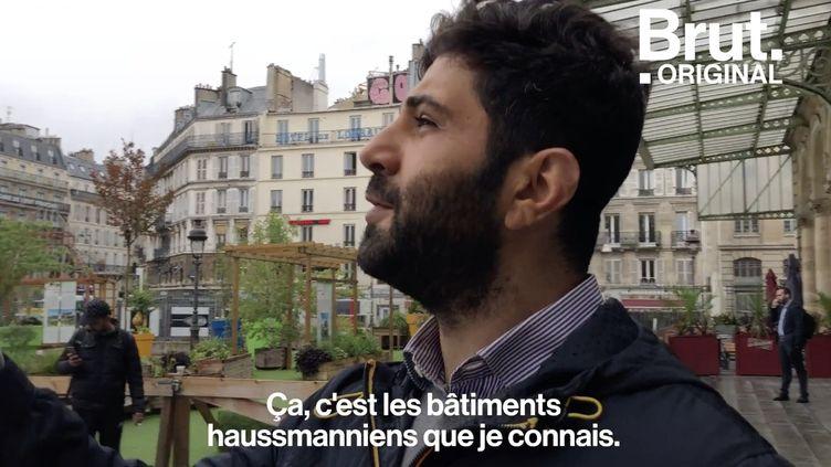 """VIDEO. """"Je me sentais exister"""" : Après avoir fui la guerre, Emad raconte son arrivée en France (BRUT)"""