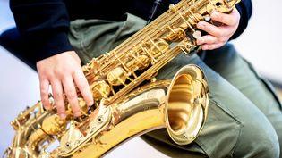 Illustration saxophone. (HAUKE-CHRISTIAN DITTRICH / DPA/ MAXPPP)