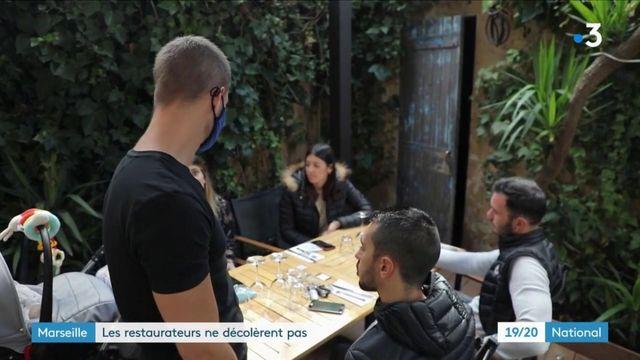 Marseille : les restaurateurs ne décolèrent pas