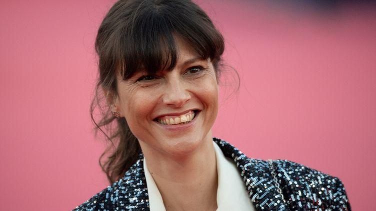 La réalisatrice Cécile Ducrocq, au 47e Festival du film américain de Deauville (Calvados), le 6 septembre 2021. (LOIC VENANCE / AFP)