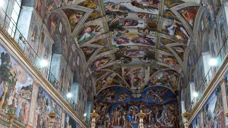La chapelle Sixtine, au Vatican, le 9 mars 2013. (MAXPPP)