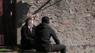 Bandes violentes : le témoignage d'un adolescent repenti, dans le département de l'Essonne, en février 2021. (France 2)