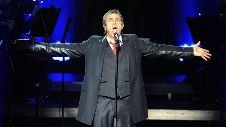 Julien Clerc en concert le 14 avril 2012  (MAXPPP/courrier de l'Ouest)