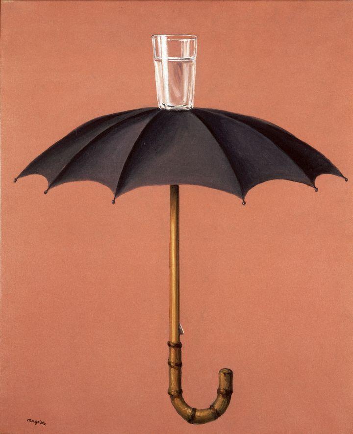 """René Magritte, """"Les vacances de Hegel"""", 1958 collection particulière  (Adagp, Paris 2016 © Photothèque R. Magritte / Banque d'Images, Adagp, Paris, 2016)"""