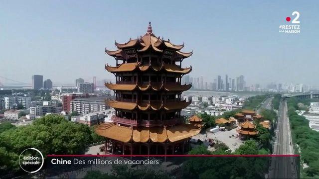 Chine : début des vacances pour les habitants de Wuhan, après des mois de confinement
