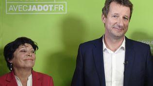 Yannick Jadot, candidat EELV à la présidentielle, au siège écologiste en novembre 2016. (ALAIN JOCARD / AFP)