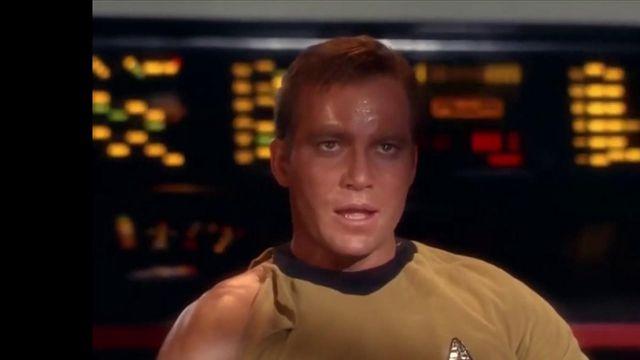 Quand la fiction rattrape la réalité, le capitaine Kirk voyage enfin dans l'espace,