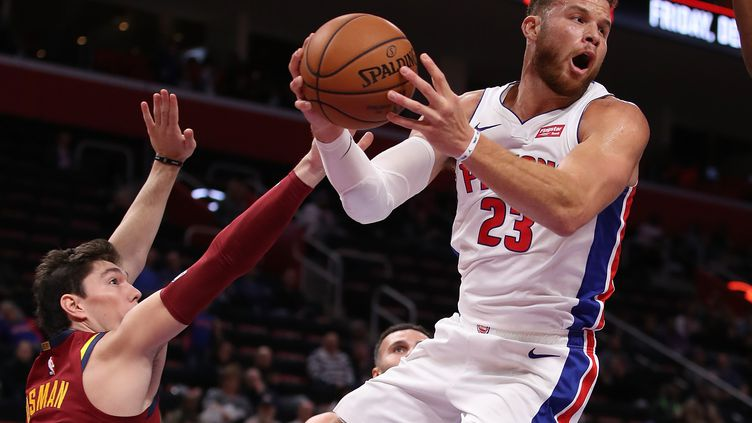 Blake Griffin (Detroit Pistons) (GREGORY SHAMUS / GETTY IMAGES NORTH AMERICA)