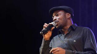 MC Solaar en 2012 lors du foot-concert à Lyon au profit de l'association Huntington Avenir.  (FAYOLLE PASCAL/SIPA)