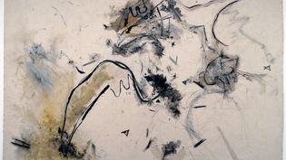 """""""L'Aile du vent de la folie"""" de l'artiste britanniqueAvis Newman en 1982. (ANN RONAN PICTURE LIBRARY / PHOTO 12 / AFP)"""