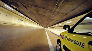 Le tunnel Duplex A86. (MIGUEL MEDINA / AFP)