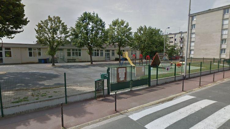 Capture d'écran Google Maps de l'écolematernelle Louis-Pergaud à Creil (Oise). (GOOGLE MAPS)