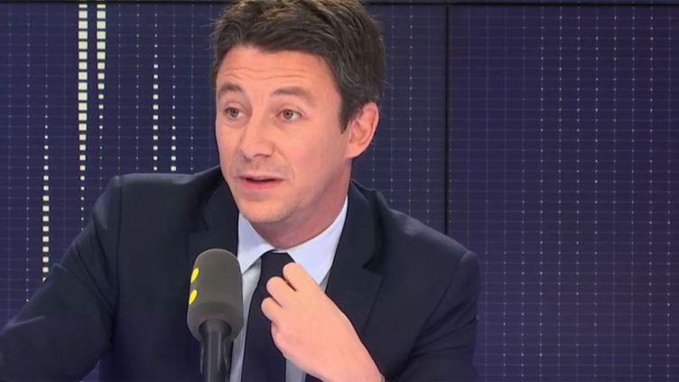 Benjamin Griveaux, le porte-parole du gouvernement? invité de franceinfo, mardi 27 novembre 2018. (RADIO FRANCE / FRANCEINFO)