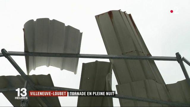 Villeneuve-Loubet : tornade en pleine nuit