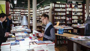 Librairie L'écume des pages à Paris.  (20/09/2017)