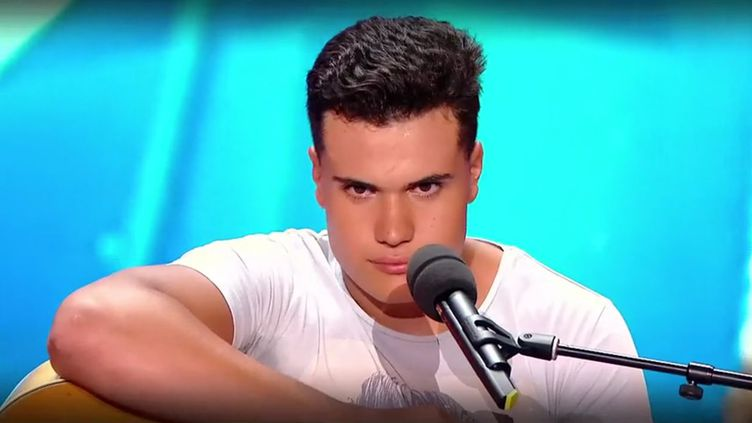 """Capture d'écran du passage de Dany Machado dans l'émission """"La France a un incroyable talent"""" du 23 novembre 2017. (M6)"""