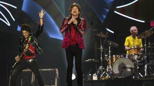 Les Rolling Stones au Maracana, à Rio de Janeiro (20 février 2016)  (Antonio Lacerda / SIPA)