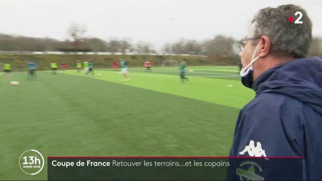 Football : les équipes de la Coupe de France retrouvent les terrains