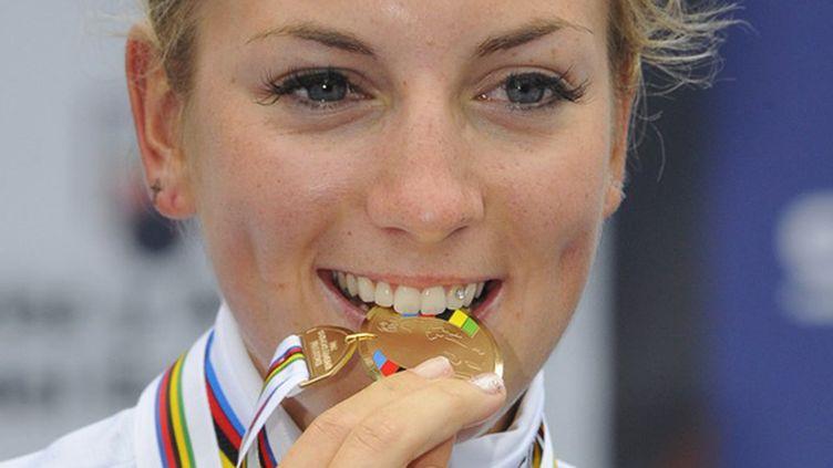 Pauline Ferrand-Prévot championne du monde sur route (MIGUEL RIOPA / AFP)