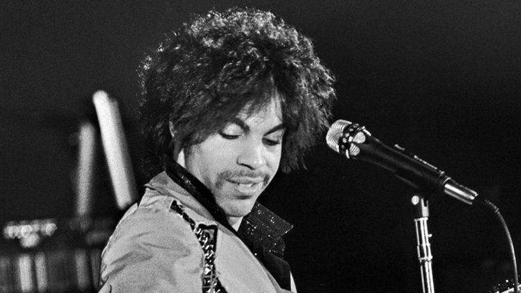 Prince en concert à Minneapolis en mars 1981  (David Brewster / Minneapolis Star Tribune / TNS / Sipa)