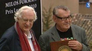 Milos Forman reçoit à Lyon le Prix Lumière 2010  (Culturebox)