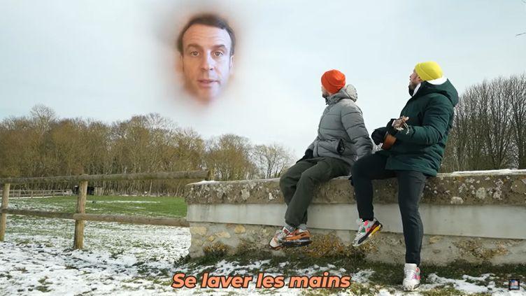 """Capture d'écran du clip """"Je me souviens"""" de Mcfly et Carlito. (Youtube/Mcfly et Carlito)"""