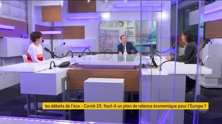 Les débats de l'éco du 8 mars 2020. (FRANCEINFO / RADIO FRANCE)