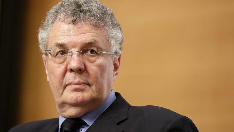Bernard Cerquiglini, le 9 décembre 2013 à Paris. (VINCENT ISORE / MAXPPP)