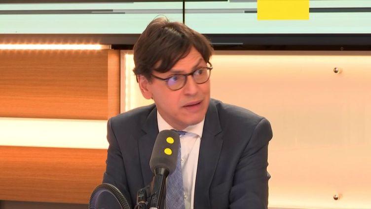Frédéric Dabi, directeur général adjoint de l'IFOP, le 4 septembre 2019 (RADIO FRANCE / FRANCEINFO)