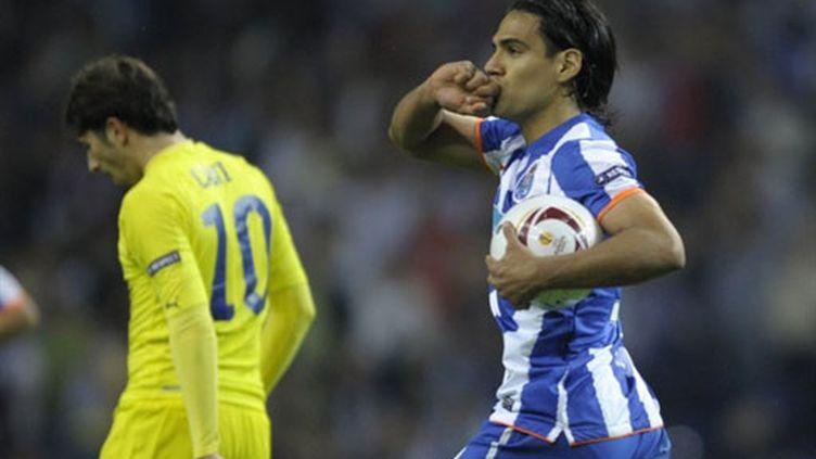 Le meilleur buteur de l'Europa League, Radamel Falcao.