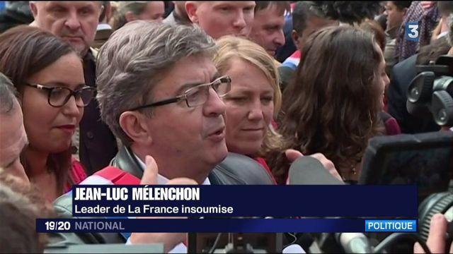 Défilé anti-Macron : les insoumis en marche