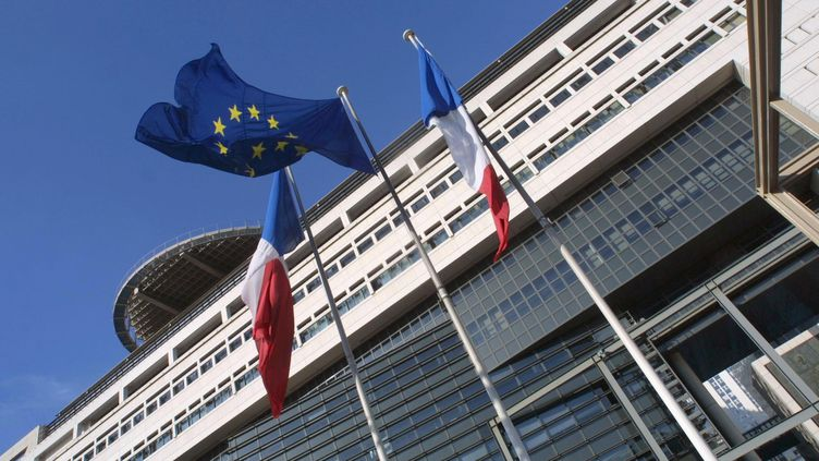 Le ministère de l'Économie et des Finances et de l'Industrie, à Paris. (FRANCOIS GUILLOT / AFP)