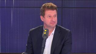 Yannick Jadot, invité de franceinfo le 6 mai 2019. (FRANCEINFO)